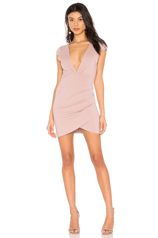 Minnie Deep V Dress
