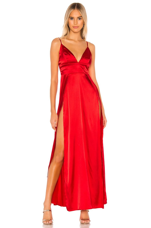 superdown Pilar Maxi Dress in Red