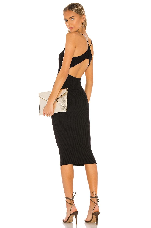 superdown Kellen Midi Dress in Black