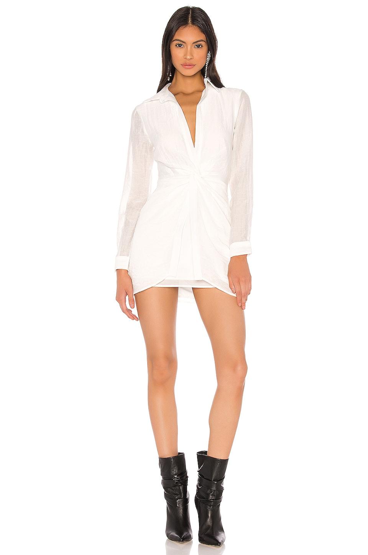 superdown x Draya Michele Rosie Mini Dress in White