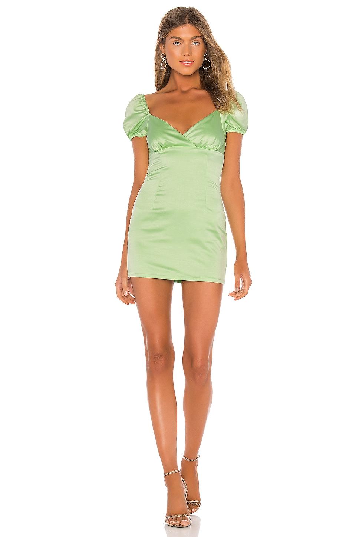 superdown Ariel Mini Dress in Green