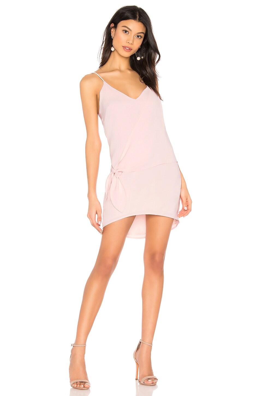 superdown Cherice Side Tie Dress in Blush