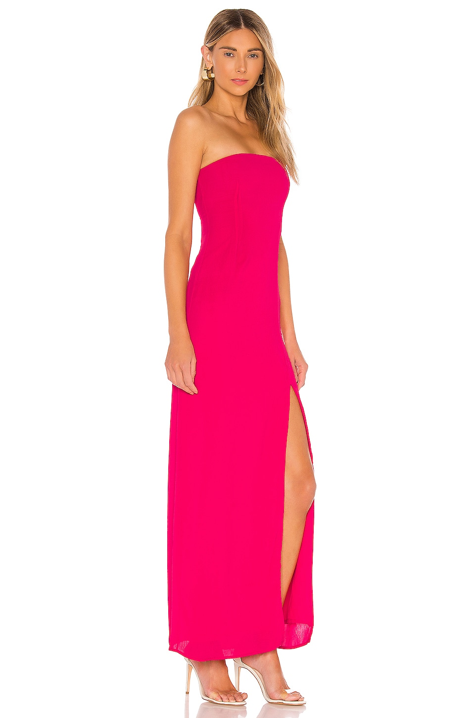 Asher Strapless Dress, view 2, click to view large image.