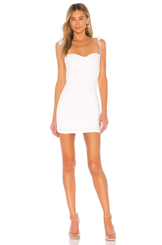superdown Trisha Tie Strap Dress in White