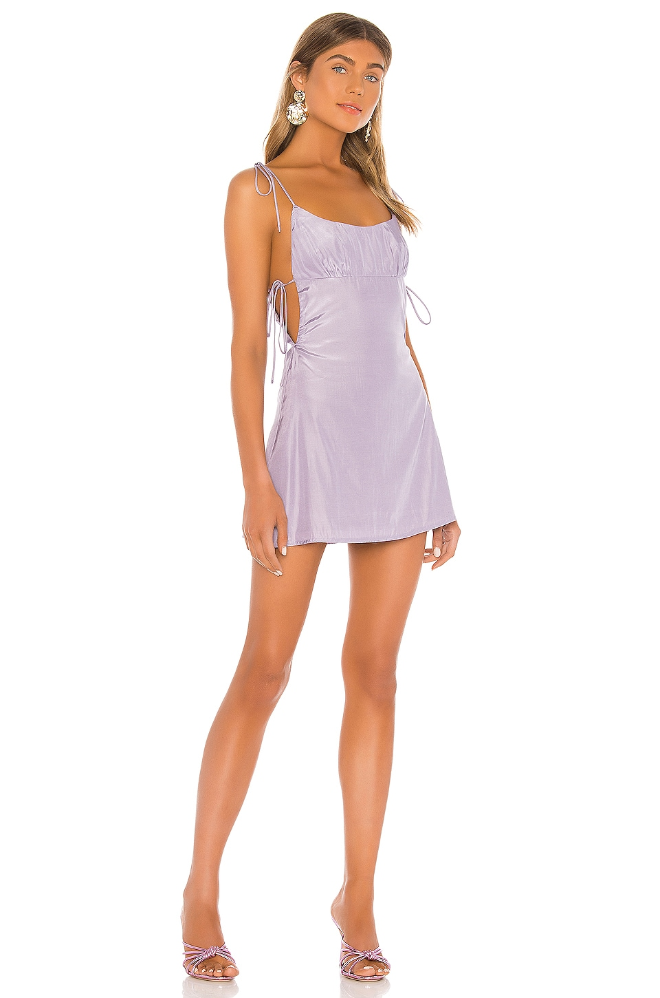 superdown Tanea Mini Dress in Lavender