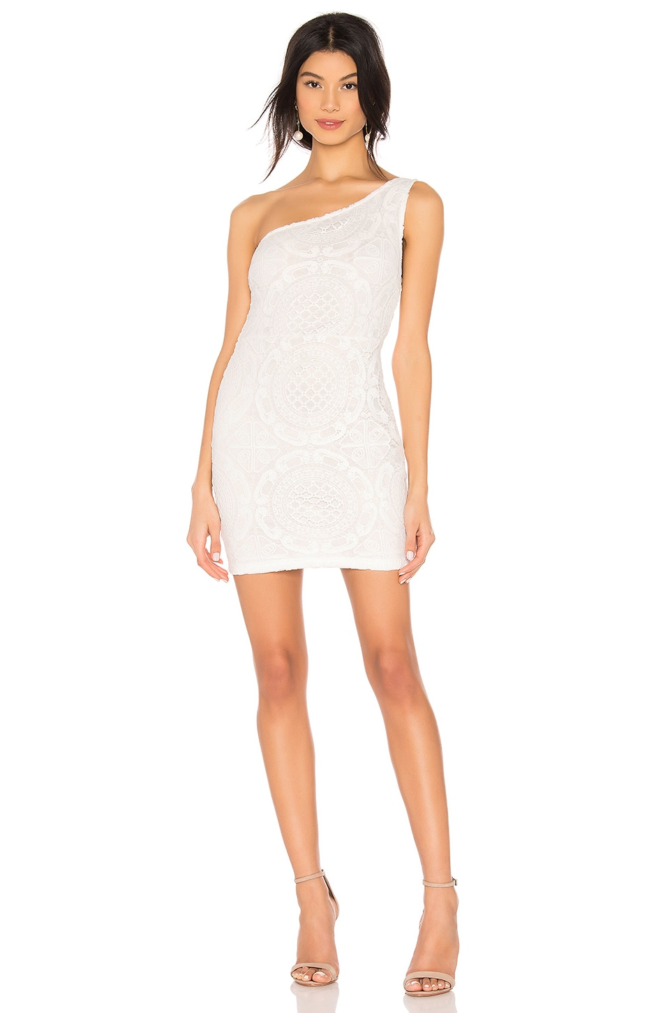 superdown Caia Lace Dress in White