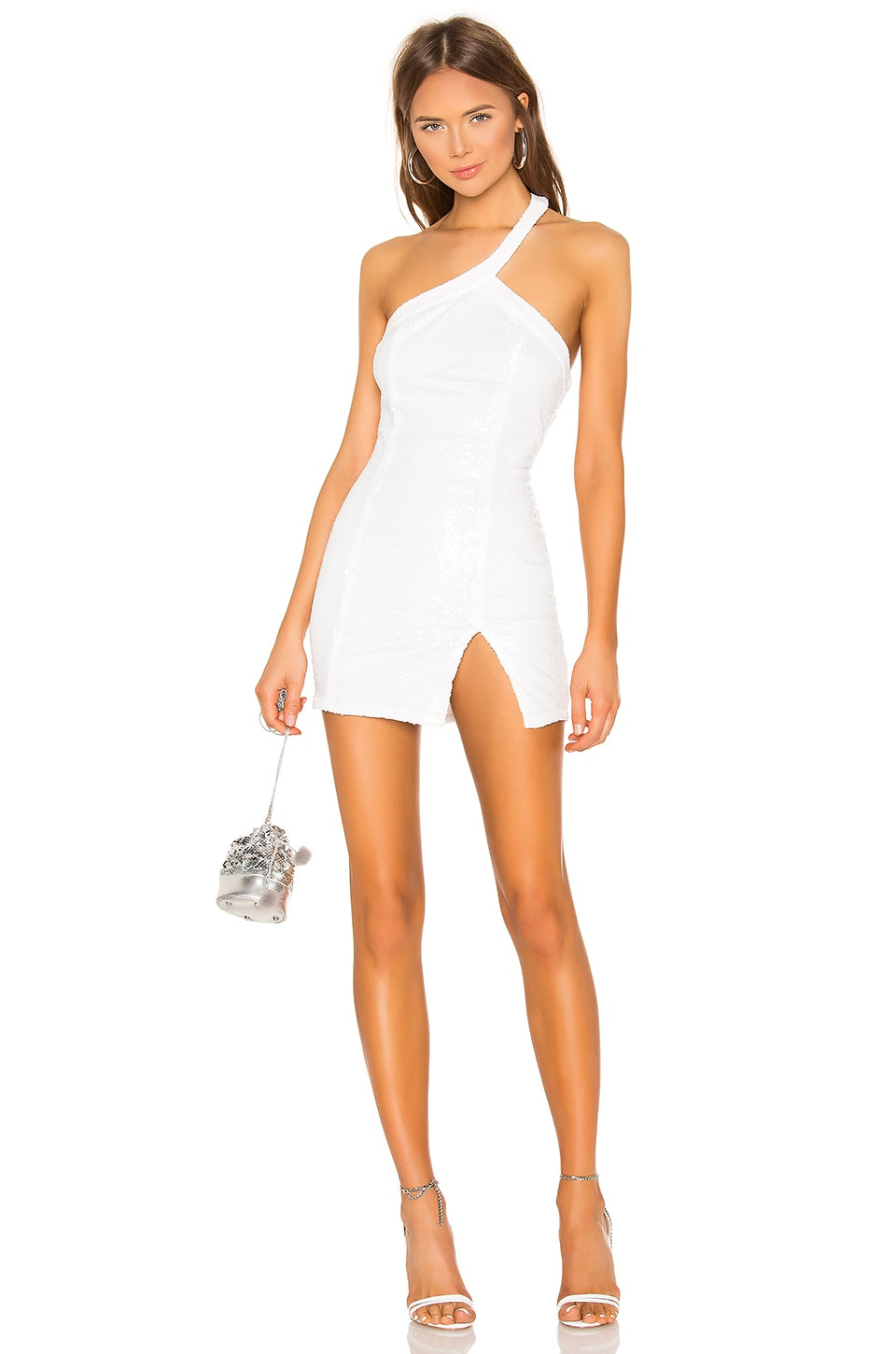 superdown Cicely Mini Dress in White