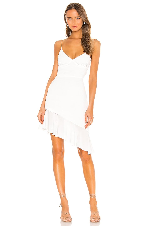 superdown Natasha Midi Dress in White