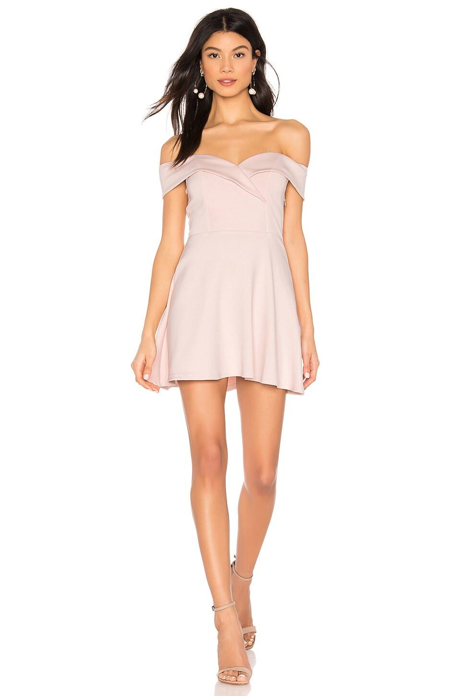 superdown Blythe Mini Dress in Pink