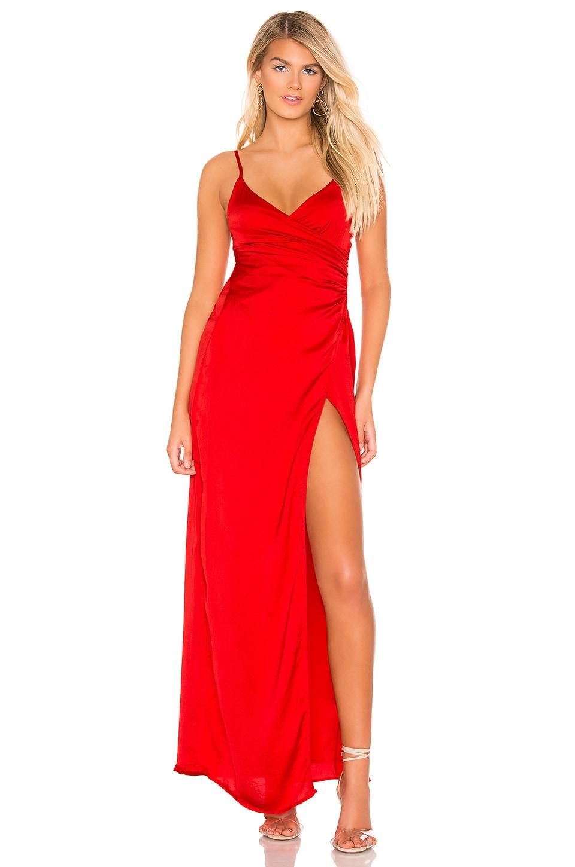 Eva Front Slit Dress