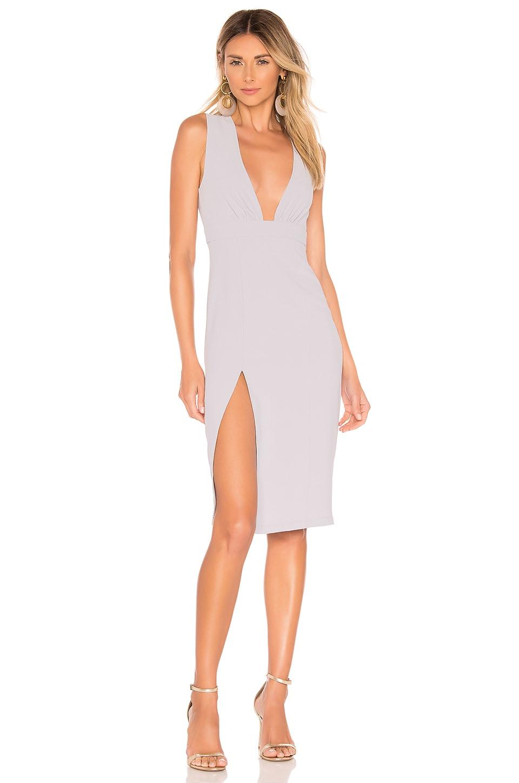 superdown Rayhana High Slit Dress in Lavender