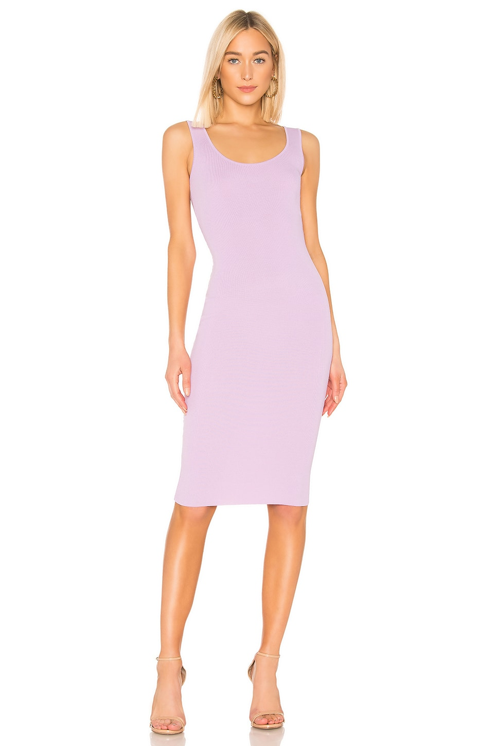 superdown Kaila Midi Dress in Lavender