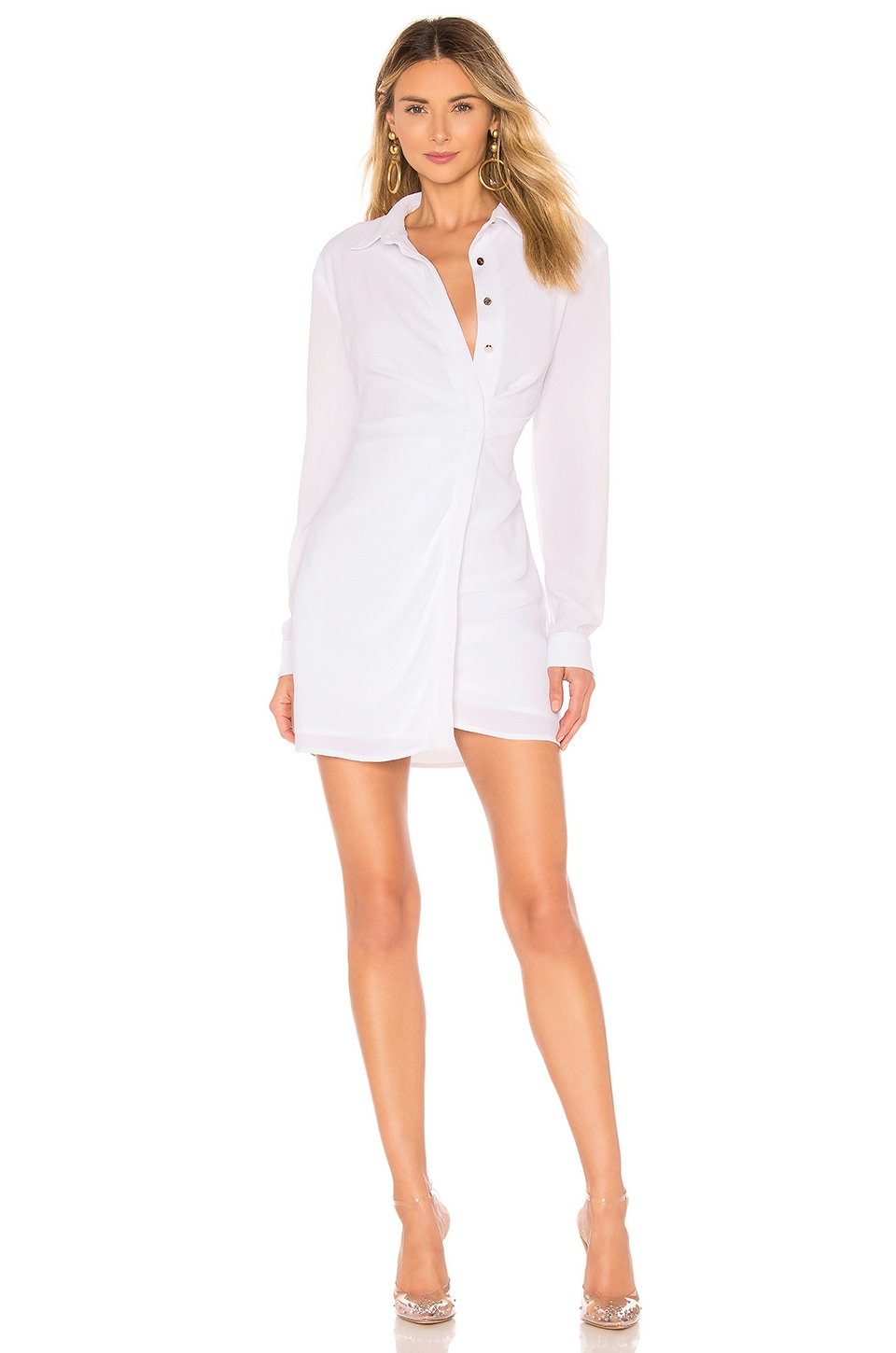 superdown Evelyn Dress in White