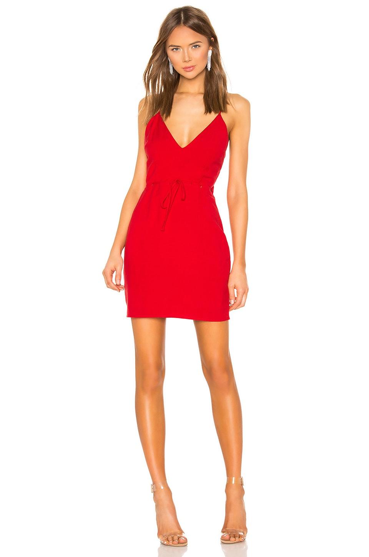 superdown Layla Mini Dress in Red