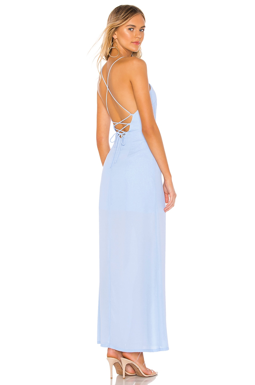 superdown Eve Maxi Dress in Light Blue