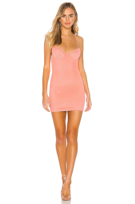 superdown Amaris Underwire Mini Dress in Pink