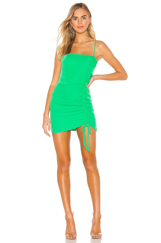 superdown Fabiana Mini Dress in Kelly Green