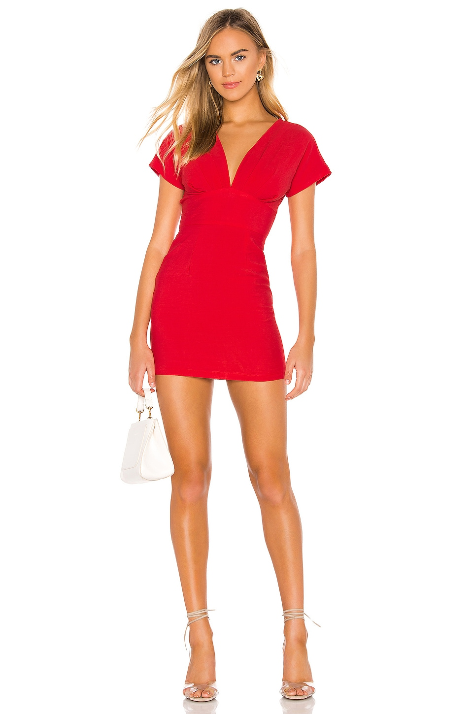 superdown Page Mini Dress in Berry