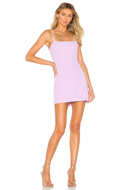 superdown Emma Tie Back Dress in Lavender