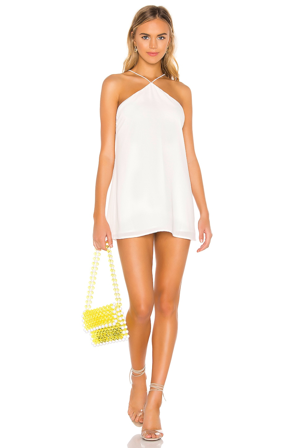 superdown Charlotte Swing Dress in White