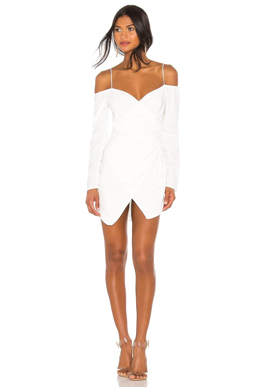superdown Edith Wrap Dress in White