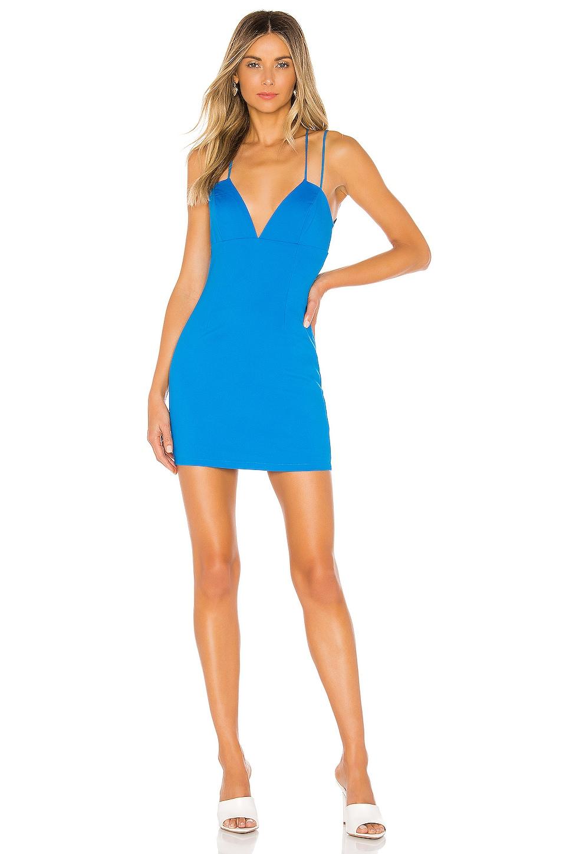 superdown Billy Strappy Back Dress in Royal Blue