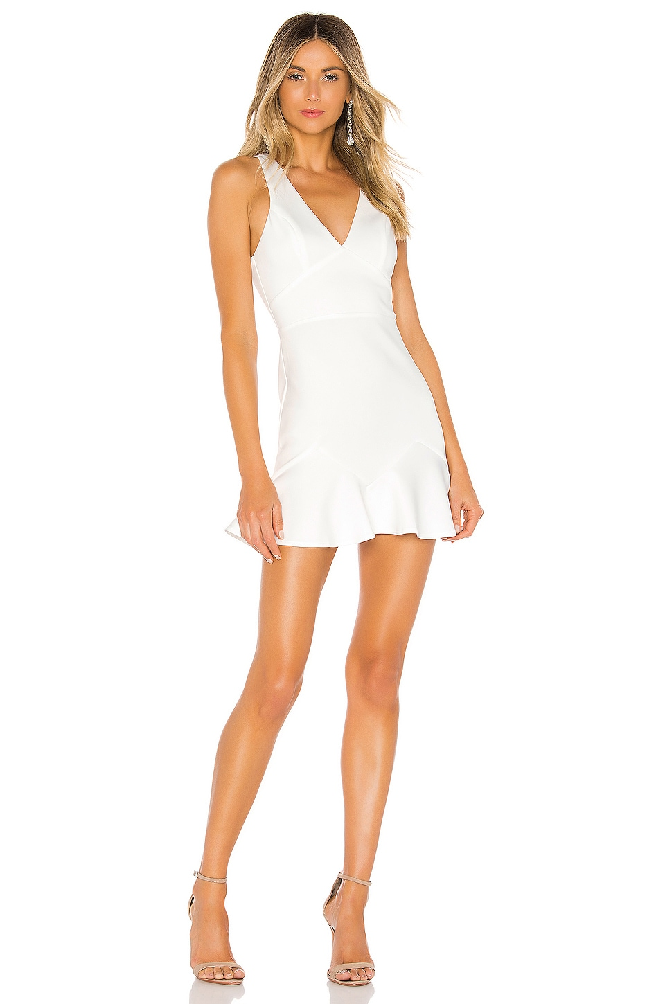 superdown Vickie Mini Dress in White