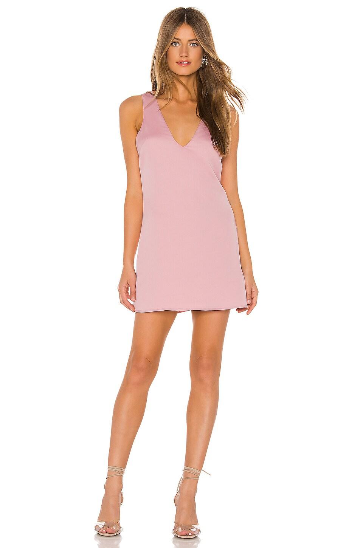 superdown Rikkie Shift Dress in Blush