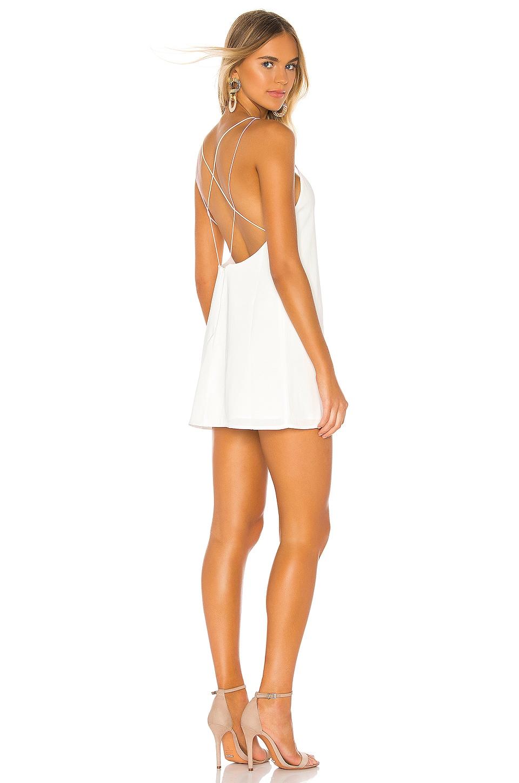 superdown Breanna Strappy Shift Dress in White