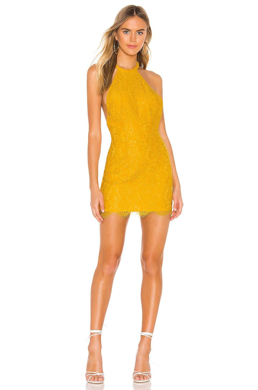 superdown Samara Mini Dress in Yellow