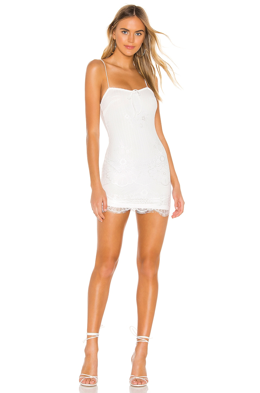superdown Miriam Mini Dress in White