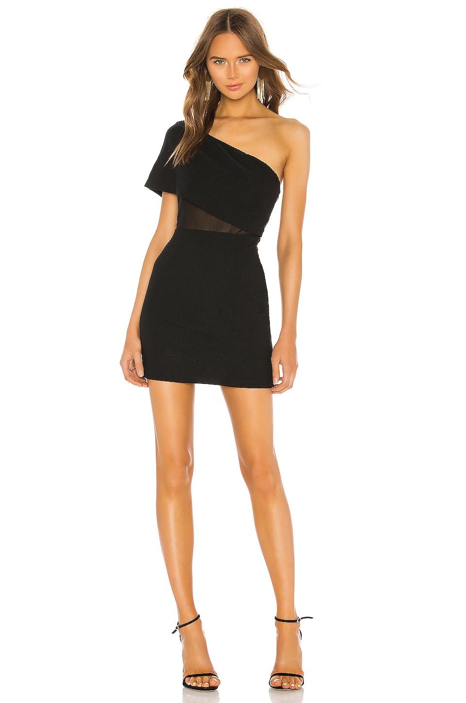 superdown Danielle Mini Dress in Black