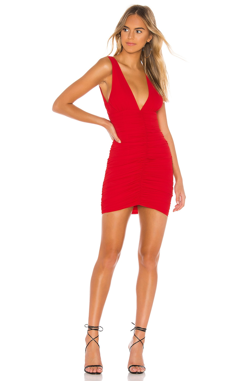 Superdown Carla Ruched Mini Dress In Red Revolve Revolve | the official pinterest of revolve. superdown