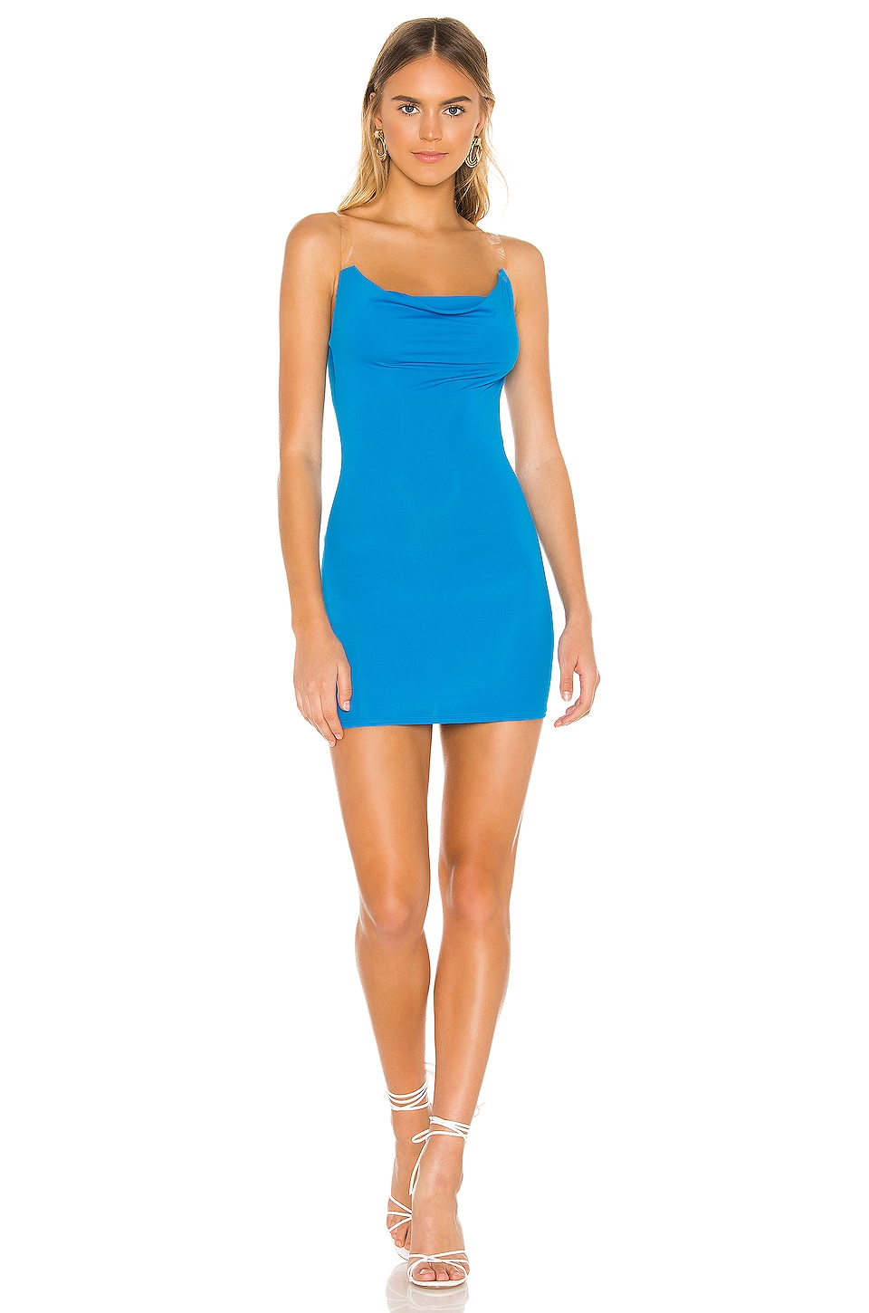 superdown Stacy Mini Dress in Blue