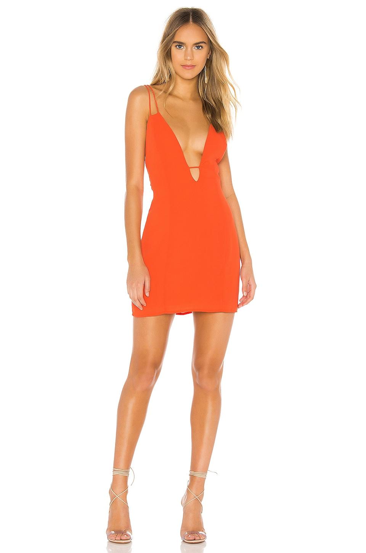 superdown Sahara Mini Dress in Tangerine