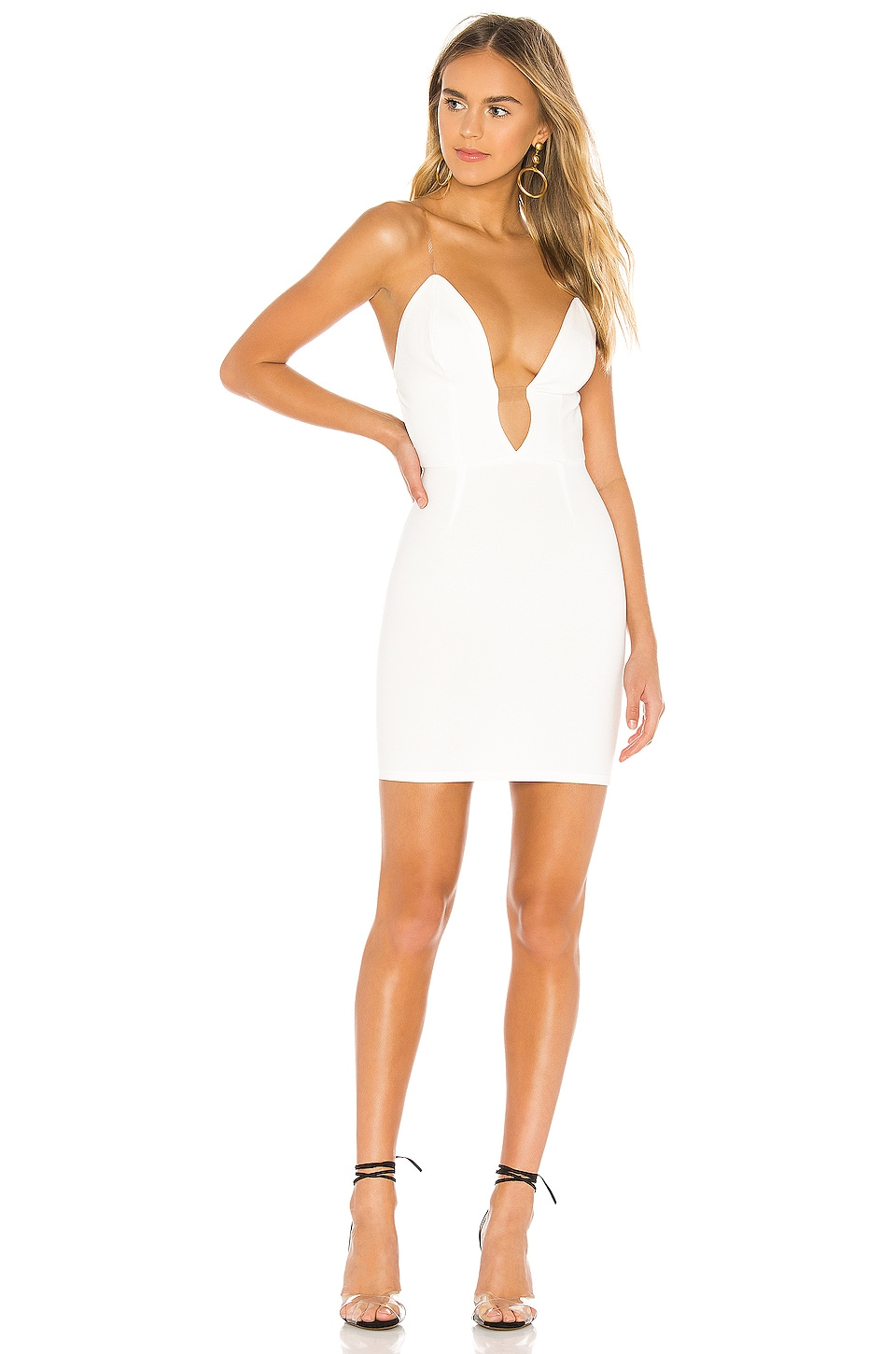 superdown Patrina Mini Dress in White