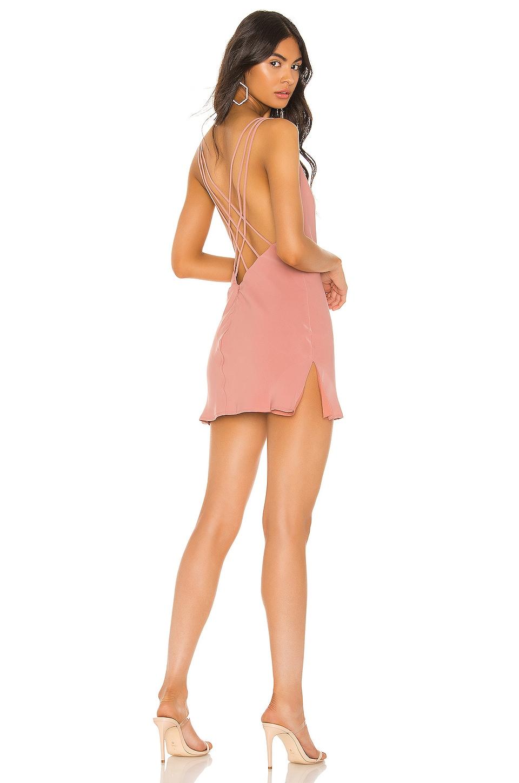 superdown Chanelle Strappy Back Dress in Mauve