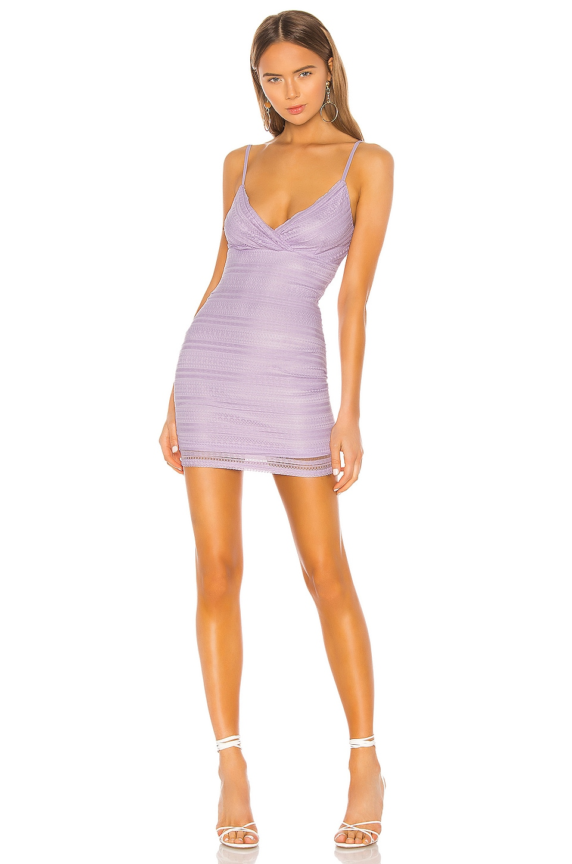 superdown Carissa Mini Dress in Lavender