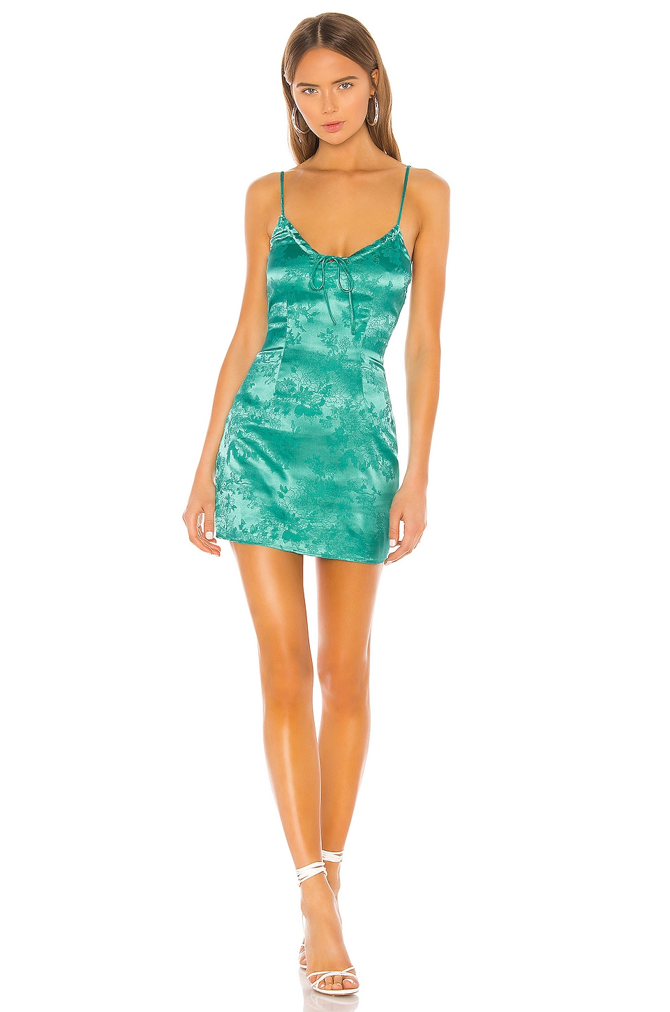 superdown Andy Mini Dress in Teal