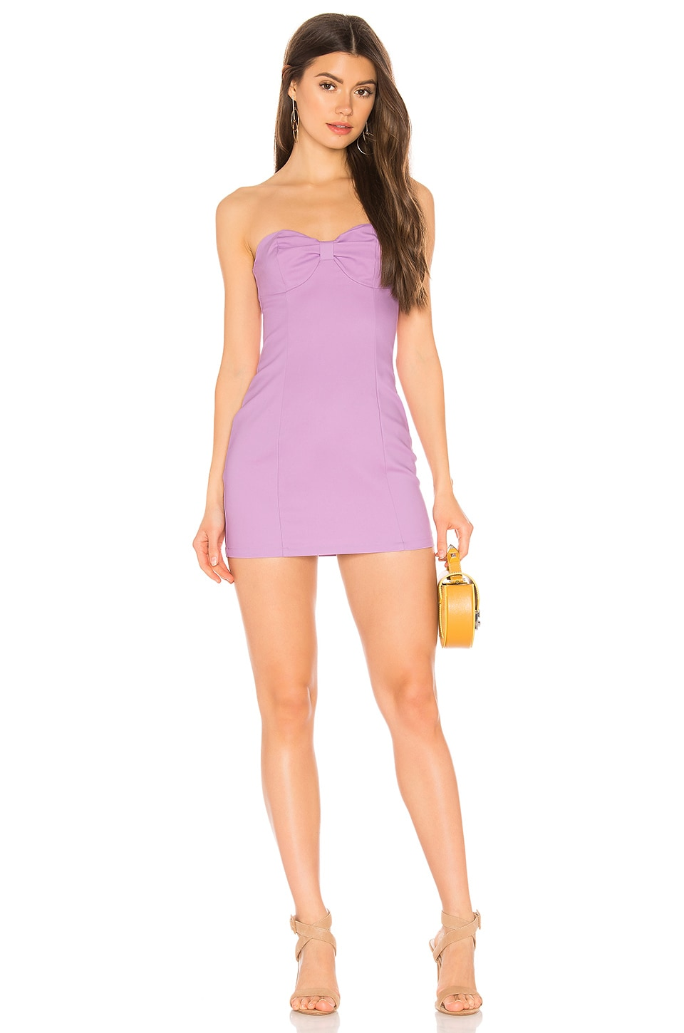 superdown Violeta Dress in Lavender