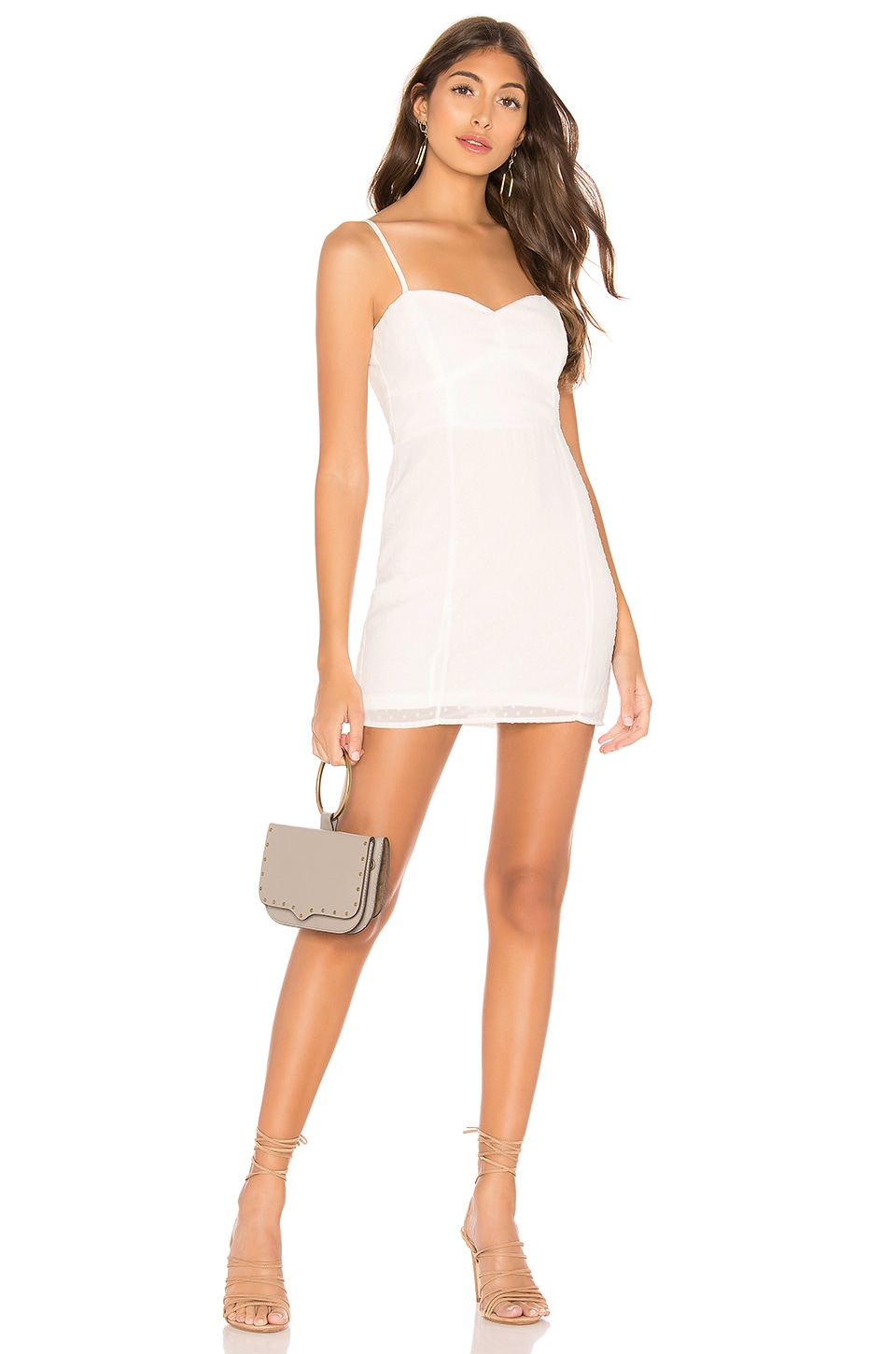 superdown Marianne Mini Dress in White