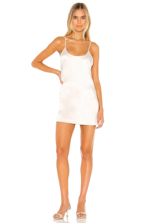 superdown Marilyn Mini Dress in Champagne