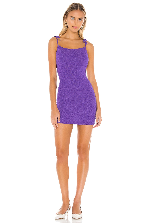 superdown Bailey Tie Strap Dress in Purple Multi