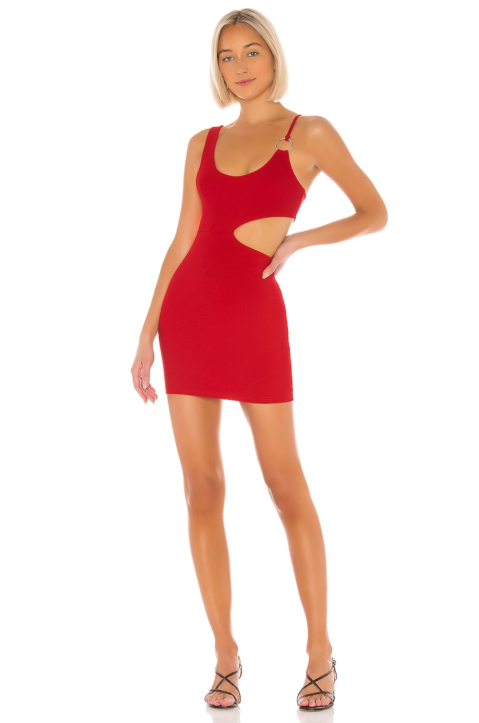 superdown Keely Cut Out Dress in Red