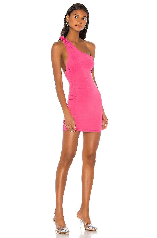 superdown Krissy Knot Mini Dress in Pink