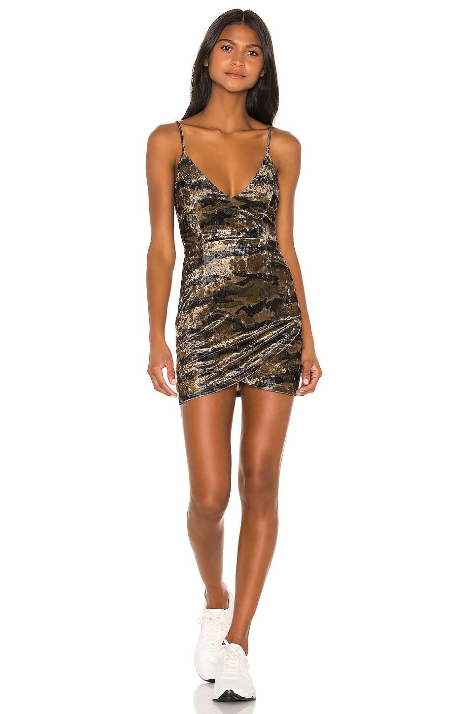 superdown Carrie Mini Dress in Camo