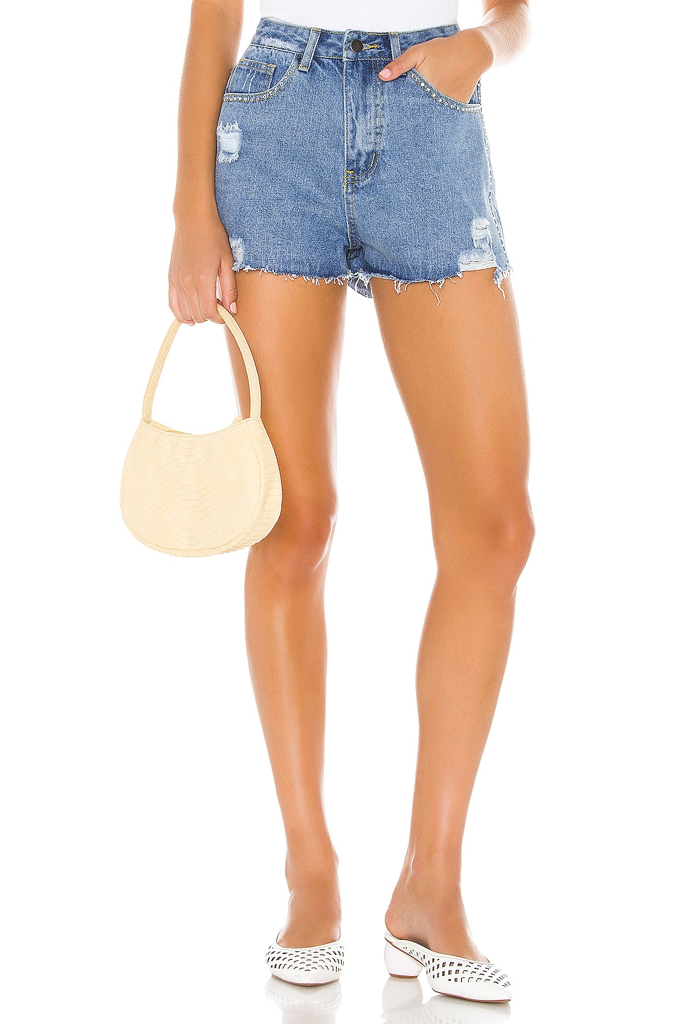 superdown DENIM DESGASTADO ANGELICA