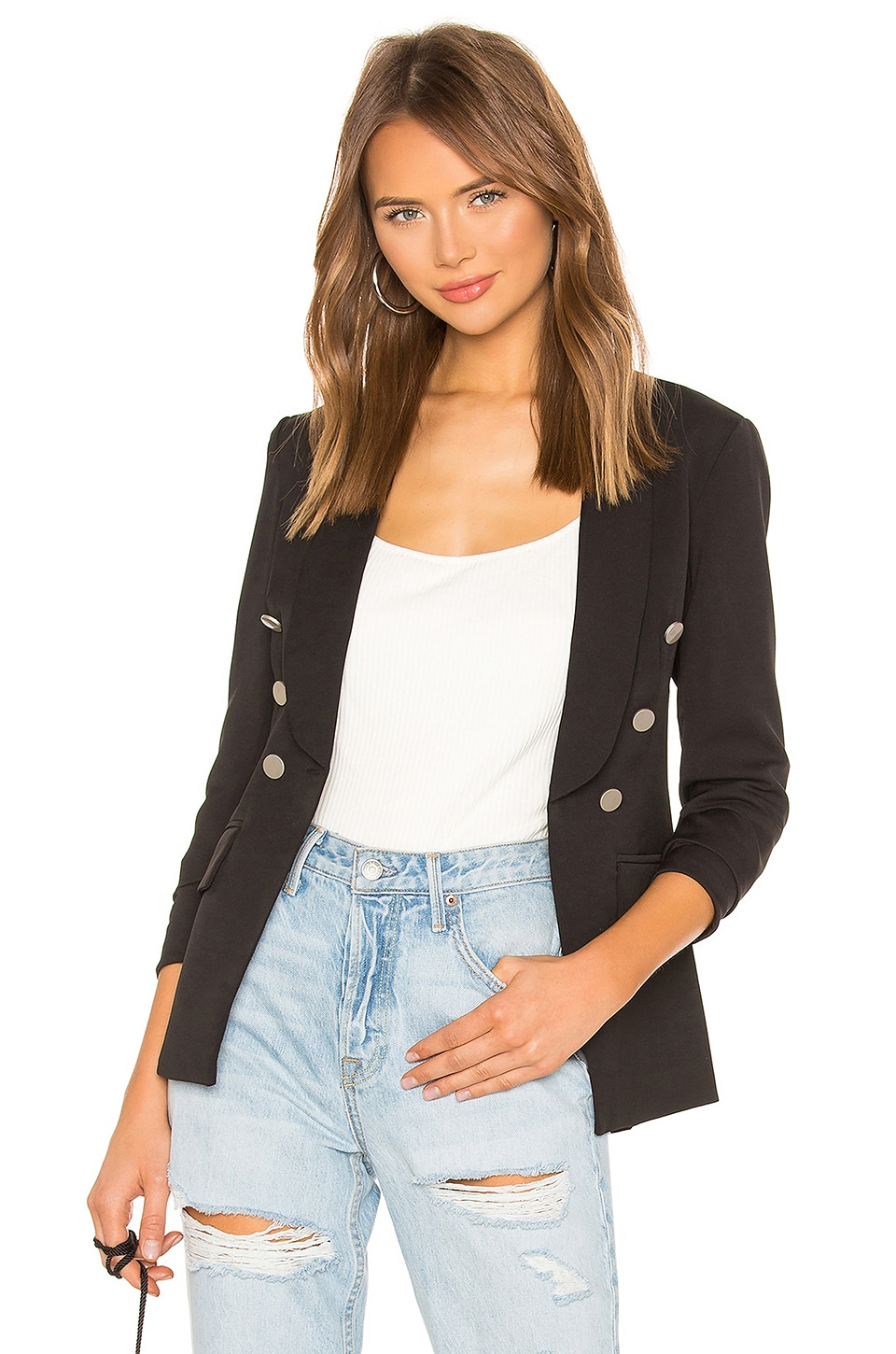 superdown Elise Blazer in Black