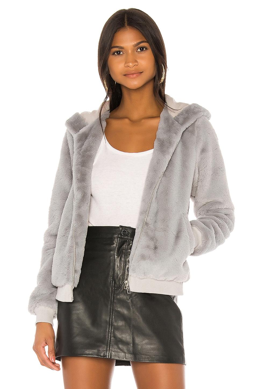 superdown Marissa Hooded Jacket in Grey