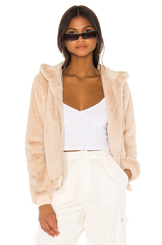 superdown Marissa Hooded Jacket in Oatmeal
